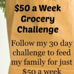 50 dollar grocery budget