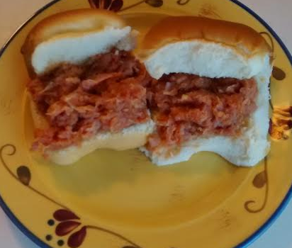 chipped ham barbecue recipe