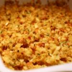 swiss chicken and stuffing casserole