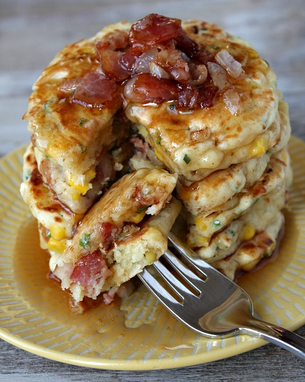 Delicious And Economical Savory Pancakes Recipes